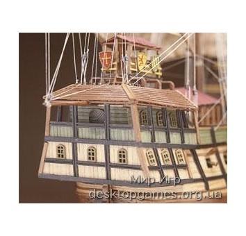 Сборная деревянная модель корабля-каракки Сао Мигуэль Atlantica - фото 11