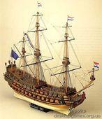 Сборная деревянная модель корабля Фрисланд