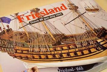 Сборная деревянная модель корабля Фрисланд - фото 3