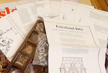 Сборная деревянная модель корабля Фрисланд - фото 9