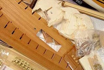 Сборная деревянная модель корабля Фрисланд - фото 10