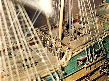 Сборная деревянная модель корабля Фрисланд - фото 12
