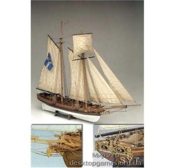 Модель корабля из дерева Марсель (Marseille)