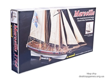 Модель корабля из дерева Марсель (Marseille) - фото 4