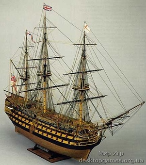 Сборная деревянная модель корабля Виктори