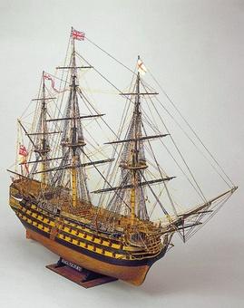 Сборная деревянная модель корабля Виктори - фото 2