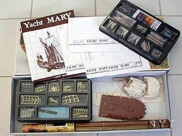 Сборная деревянная модель корабля Yacht Mary - фото 3