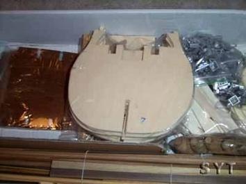 Сборная деревянная модель корабля Виктори - фото 5