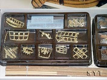 Сборная деревянная модель корабля Yacht Mary - фото 7