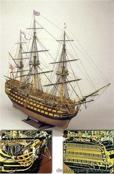 Сборная деревянная модель корабля Виктори - фото 10