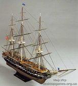 Сборная деревянная модель корабля Конститьюшн
