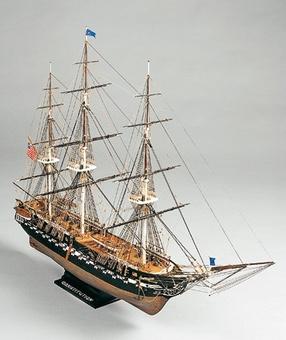 Сборная деревянная модель корабля Конститьюшн - фото 2