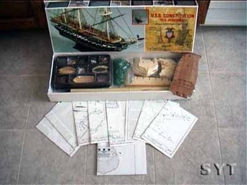Сборная деревянная модель корабля Конститьюшн - фото 3