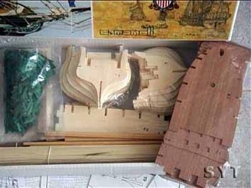 Сборная деревянная модель корабля Конститьюшн - фото 4