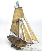 Сборная деревянная модель корабля Гретель (Gretel) для склеивания