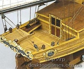 Сборная деревянная модель корабля Гретель (Gretel) для склеивания - фото 2