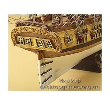Модель корабля из дерева Rattle Snake - фото 2