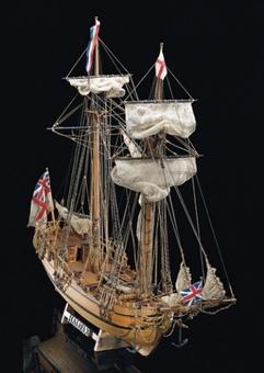 Сборная модель корабля из дерева Halifax (Галифакс) - фото 2