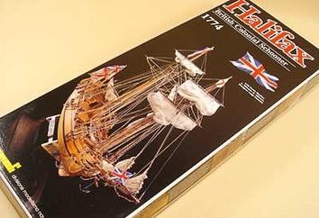 Сборная модель корабля из дерева Halifax (Галифакс) - фото 3