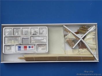Модель корабля из дерева Люгер (Le Coureur) - фото 3