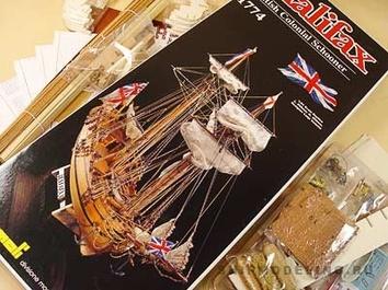 Сборная модель корабля из дерева Halifax (Галифакс) - фото 5