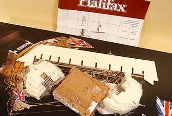 Сборная модель корабля из дерева Halifax (Галифакс) - фото 9