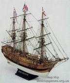 Сборная деревянная модель корабля Баунти