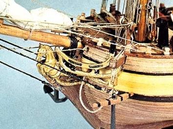 Сборная модель корабля из дерева Halifax (Галифакс) - фото 11