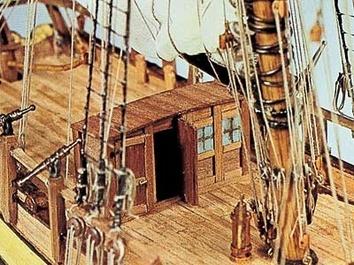 Сборная модель корабля из дерева Halifax (Галифакс) - фото 12