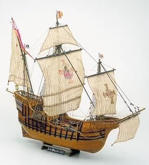 Сборная деревянная модель корабля Santa Maria - фото 2