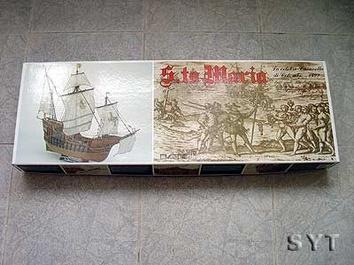 Сборная деревянная модель корабля Santa Maria - фото 3