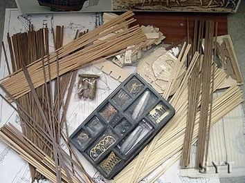 Сборная деревянная модель корабля Santa Maria - фото 4