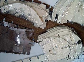 Сборная деревянная модель корабля Santa Maria - фото 5