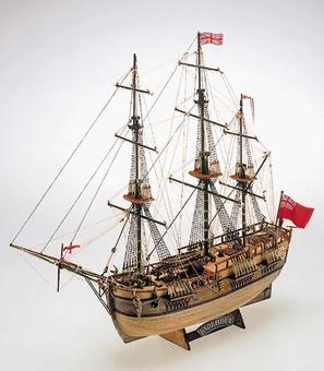Деревянный корабль Endeavour (Эндевор) - фото 2