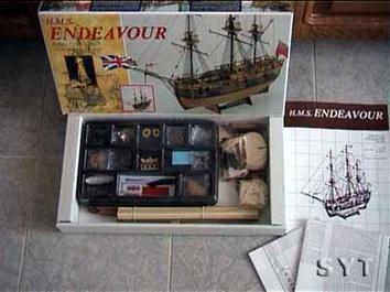 Деревянный корабль Endeavour (Эндевор) - фото 3