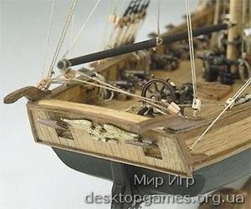 Модель деревянного корабля Лексингтон (Lexington) - фото 2