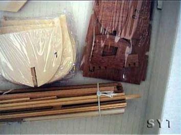 Деревянный корабль Endeavour (Эндевор) - фото 5
