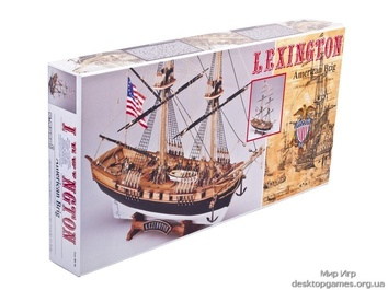 Модель деревянного корабля Лексингтон (Lexington) - фото 3