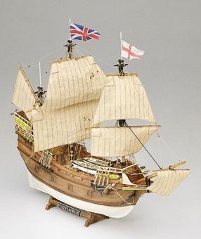 Сборная деревянная модель корабля Mayflower - фото 2