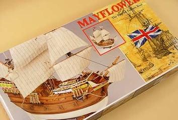 Сборная деревянная модель корабля Mayflower - фото 3