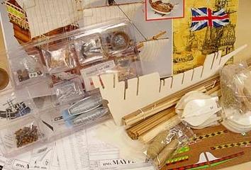 Сборная деревянная модель корабля Mayflower - фото 4