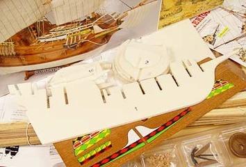 Сборная деревянная модель корабля Mayflower - фото 8