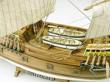 Сборная деревянная модель корабля Mayflower - фото 10