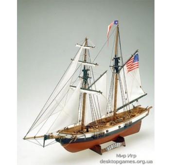 Сборная деревянная модель корабля Newport