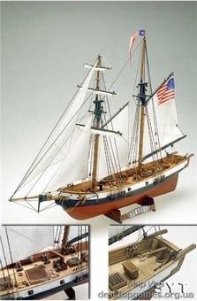Сборная деревянная модель корабля Newport - фото 2