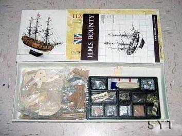 Деревянная модель английского корабля HMS Bounty (Баунти)  XVII - фото 3
