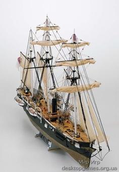 Модель корабля из дерева  Алабама (CSS Alabama)