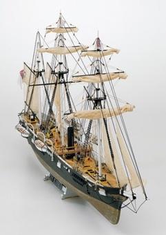 Модель корабля из дерева  Алабама (CSS Alabama) - фото 2