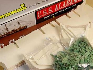Модель корабля из дерева  Алабама (CSS Alabama) - фото 6