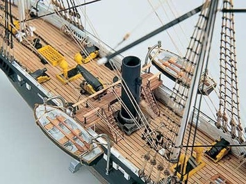Модель корабля из дерева  Алабама (CSS Alabama) - фото 9